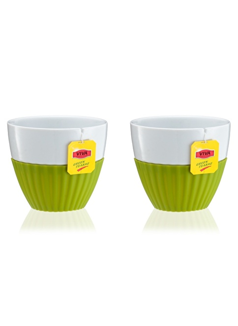 VivaScandinavia Anytıme 2 Li Çay Seti Tea-Bag Yeşil Yeşil